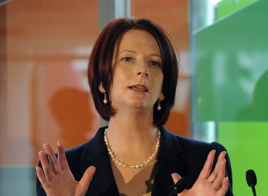 Julia Gillard: the constitutional referendum would hope to capitalise on a