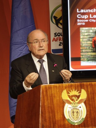 Sepp Blatter passed off his comment that gay people