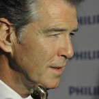 Pierce Brosnan who won Best Actor in a Supporting Role (Film) for The Ghost. Photo by KOBPIX.