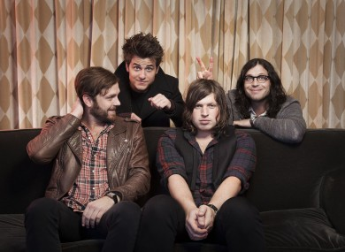 From left to right: Caleb, Jared, Matthew and Nathan Followill