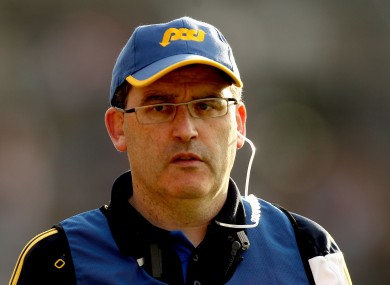 Ger O'Loughlin: quits after two seasons in charge.