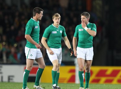 Sexton and O'Gara have played in the same side on occasion.