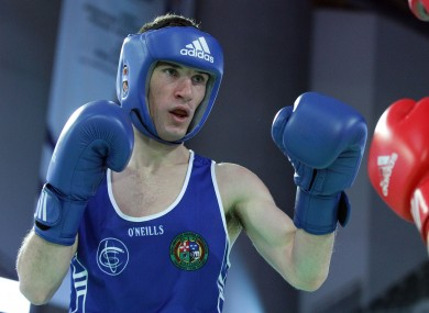 John Joe Nevin: through to London 2012.