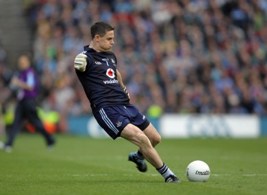 Cluxton takes THAT free.
