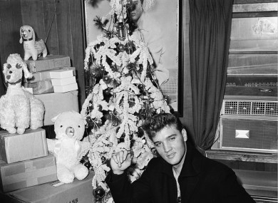 Ask yourself: What would Elvis have put on the top of his Christmas tree?