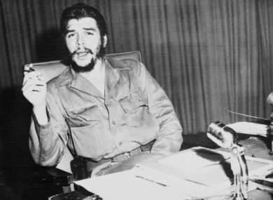 Che Guevara photographed in Havana, Cuba in October 1960.