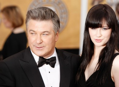 Alec Baldwin with his daughter Ireland.