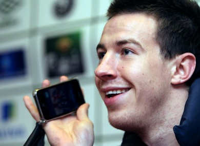Ireland defender Sean St Ledger.
