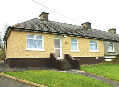 This house in Ballinagh, Co Cavan has a reserve of €15,000.