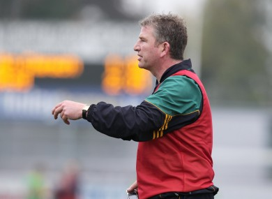 Coffey steps in as the interim manager for Offaly.