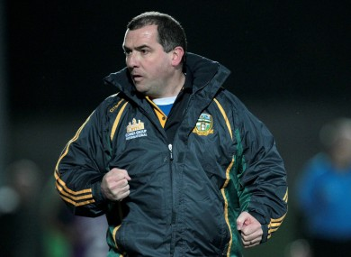 Seamus McEnaney: under pressure after league relegation.