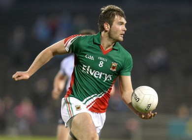 O'Shea has been in impressive form for Mayo.