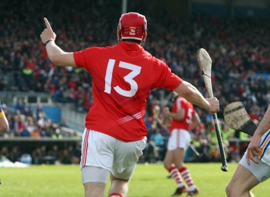 Luke O'Farrell scores a decisive goal against Tipperary