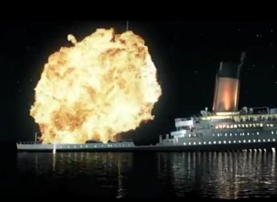 Titanic 3D with new special effects