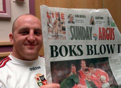 Keith Wood checks out the local press.