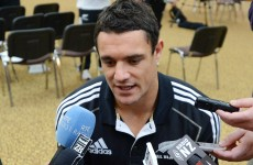 No Dan Carter in All Blacks' XV to face I