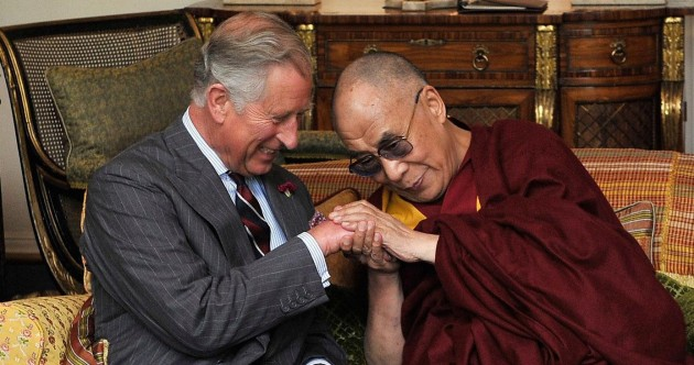 Best mates: Prince Charles and the Dalai Lama (pics)
