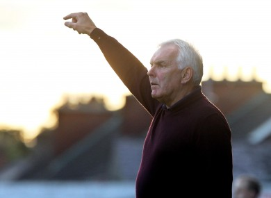 Drogheda boss Mick Cooke.