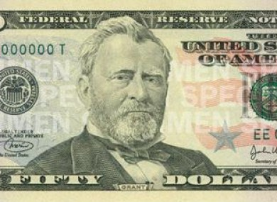 how to tell if 50 dollar bill is counterfeit