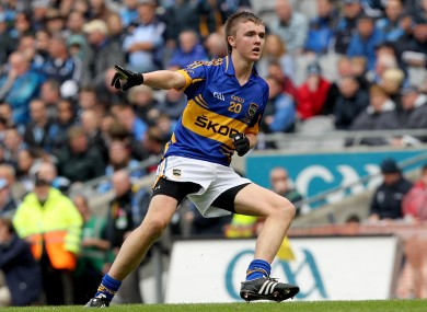 Colman Kennedy was man-of-the-match in yesterday's Tipperary SFC final for Clonmel Commercials.