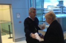 'Passport please': Ryanair boss checks boarding passes at Dublin Airport