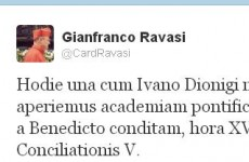Vatican launches new Latin-teaching academy… with a tweet