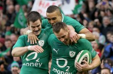 Match report: Seven-try Ireland rout Argentina