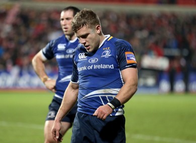 Ian Madigan trudges off