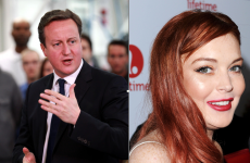 The Dredge: MORTO for you Lindsay Lohan and David Cameron
