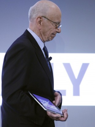 Murdoch launching his iPad-only newspaper in February 2011