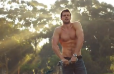 VIDEO: The Diet Coke hunk is back