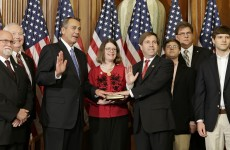 New US Congress sworn in ahead of tough spending talks