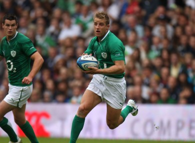 Luke Fitzgerald should start on the left wing.