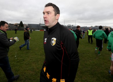 Crossmaglen's Oisin McConville disappointed after the game last week.