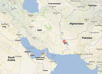 The massive earthquake was felt as far away as Abu Dhabi and New Delhi.