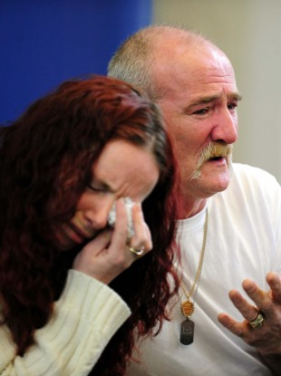 Mick Philpott and wife Mairead had attempted to pin the blame on an ex-girlfriend of his (file photo).