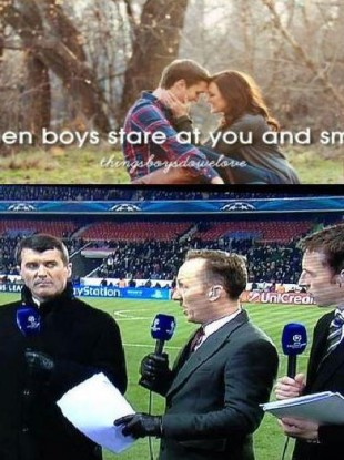 Death Stare: Roy Keane, Lee Dixon and Gareth Southgate