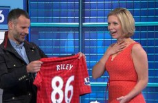In pictures: Ryan Giggs surprises Rachel Riley on special episode of Count
