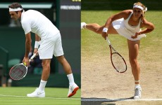 GIF shows just how much the Wimbledon grass changes in 2 weeks