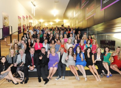 TV3 staff at last autumn's schedule launch.