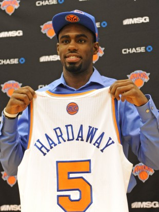 New York Knicks first round draft pick Tim Hardaway Jr.