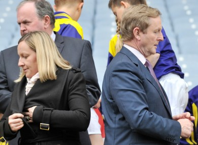 Lucinda Creighton and Enda Kenny at an event last May
