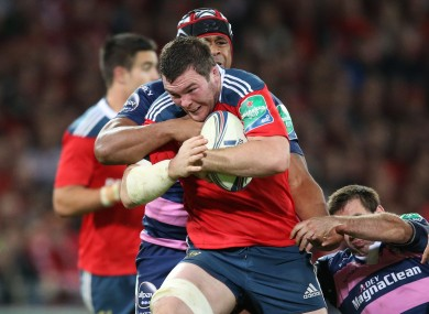 O'Mahony was in superb form at Thomond Park.