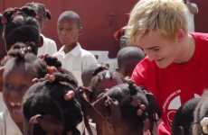 Video: 'Evil' King Joffrey in Haiti with aid agency GOAL