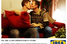 Equality activists create LGBT-friendly IKEA catalogue after Russian controversy