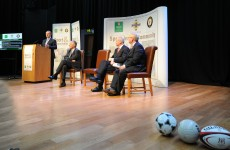 Enda Kenny proposes an all-Ireland soccer team to play against England