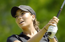 Cheyenne Woods replicates Uncle Tiger's famous juggling commercial