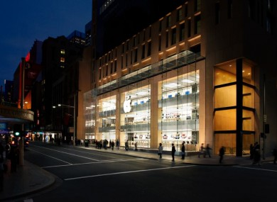 The Apple Store in Sydney, Australia