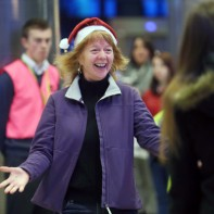 Hugs, kisses and silly hats: Warm scenes of homecomings at Dublin Airport