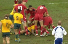 Mike Phillips could be in big trouble after this stamp on Quade Cooper